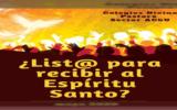 ¿List@ para recibir el Espíritu Santo?